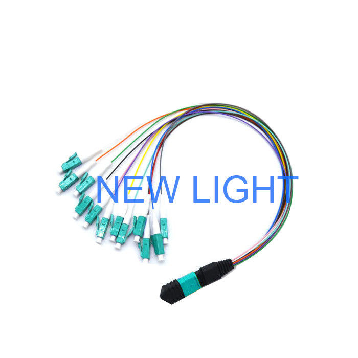 Multi Fiber Connector Mtp Fiber Cable / Connect Mpo Cassette Patch Panel