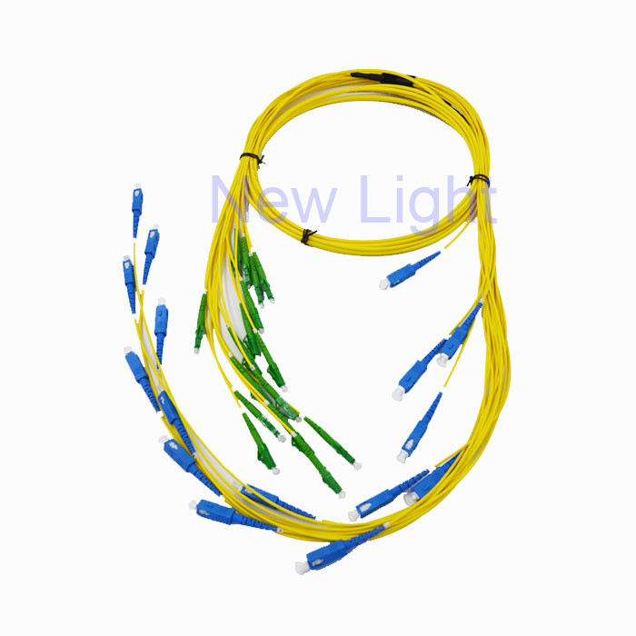 Simplex Lc Lc Patch Cord / Duplex Fiber Optic Uniboot Single Mode Fiber Optic Patch Cord